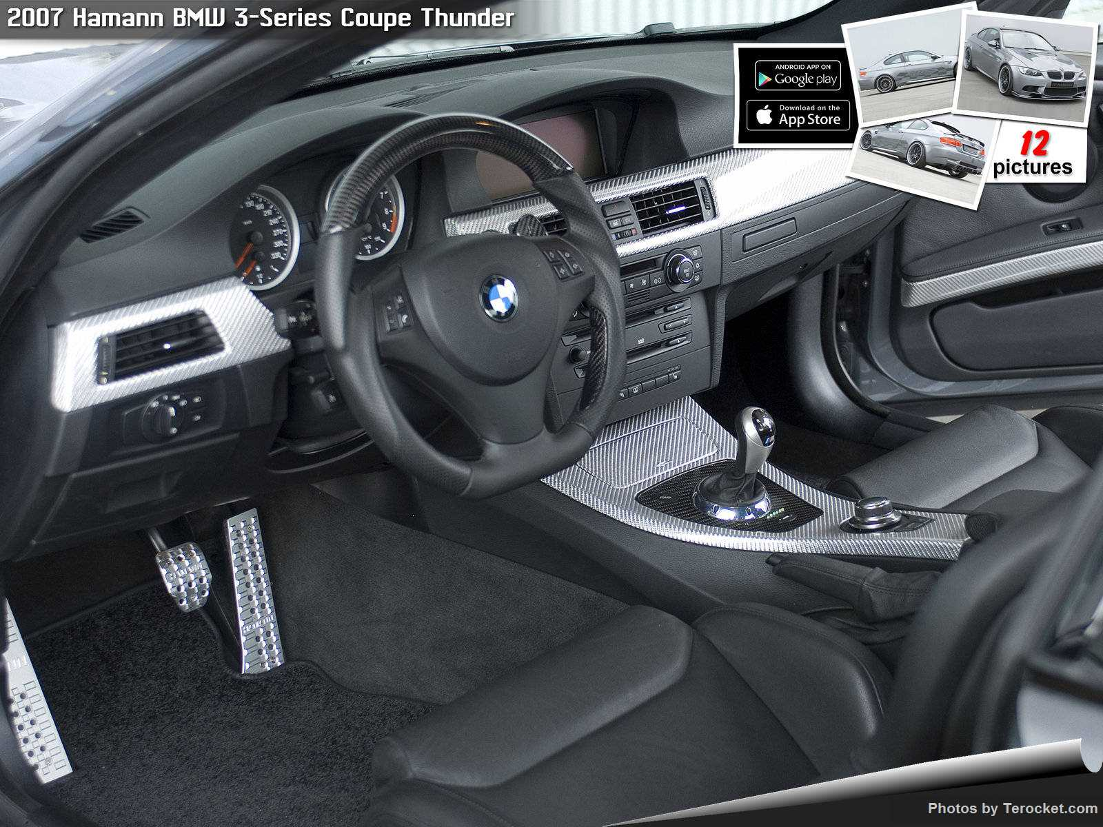 Hình ảnh xe ô tô Hamann BMW 3-Series Coupe Thunder 2007 & nội ngoại thất