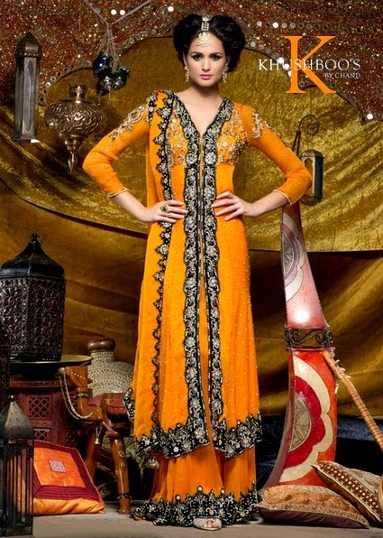Indian Salwar Kameez Dresses 2014 by Khusboo