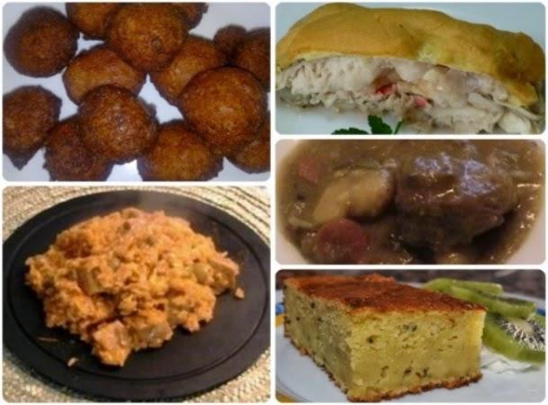Menú con cinco recetas nº 25