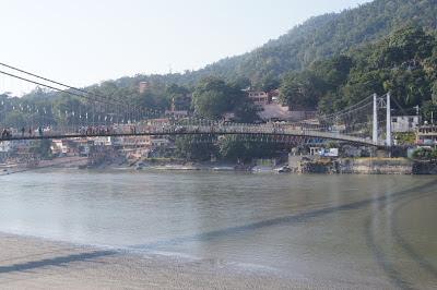 places to visit in Rishikesh, Ram Jhula Rishikesh