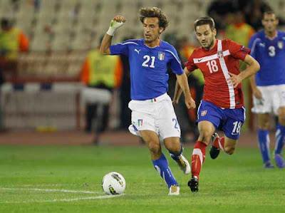 Serbia 1 - 1 Italy (1)
