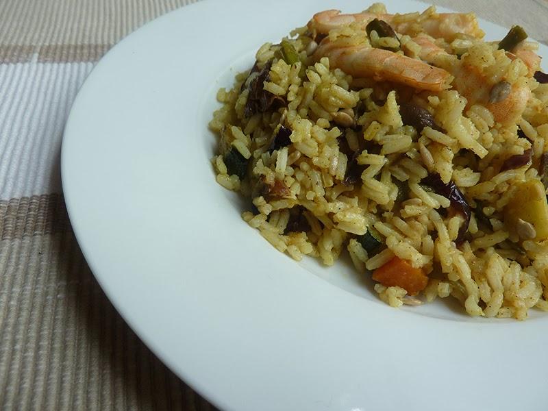 Charo y su cocina salteado de arroz con verduras al ras - Salteado de arroz ...