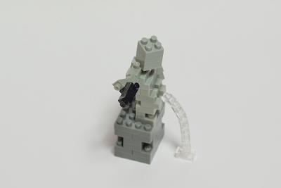 ナノブロックで作った、小便小僧 (ギャングスタ・バージョン)