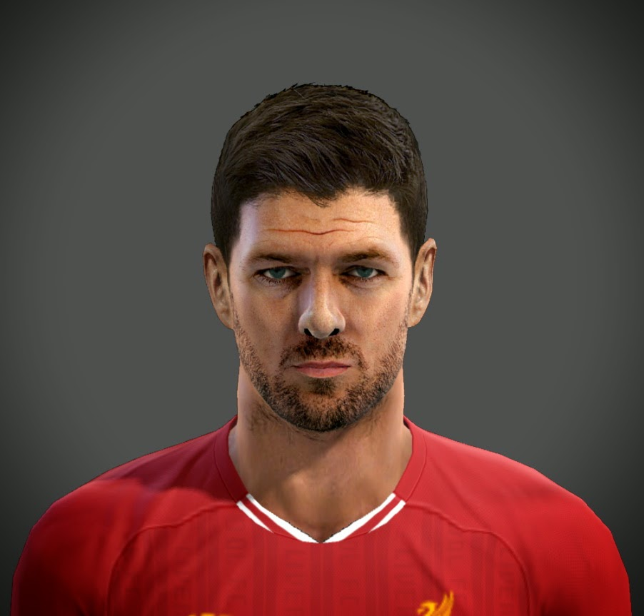 PES 2013 Steven Gerrard Face by emre