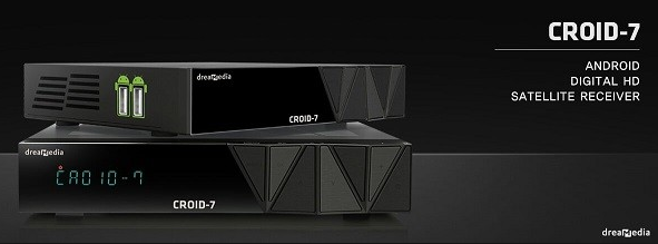 Atualizacao do receptor Dreamedia Croid 7 v1.02
