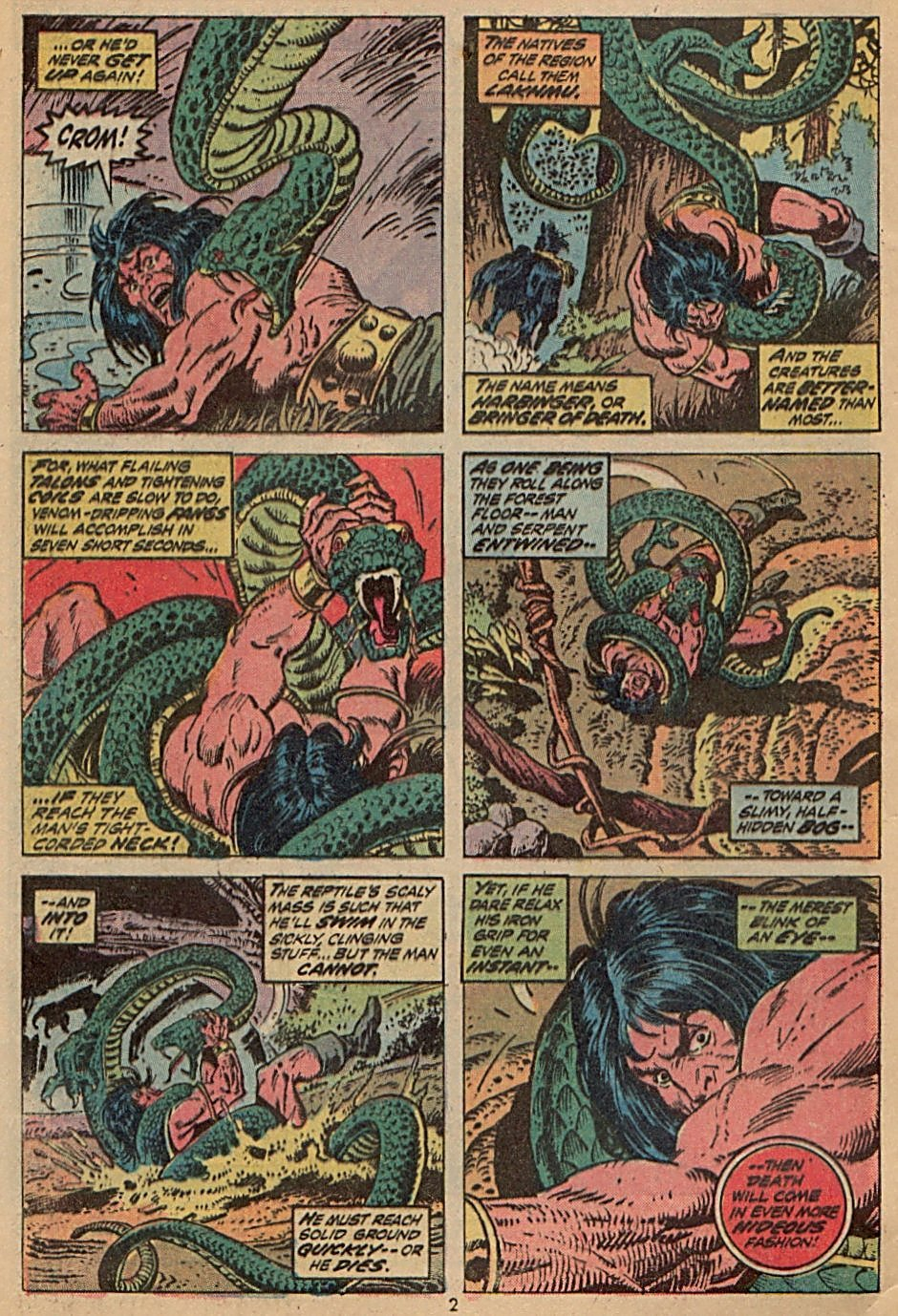 Conan the Barbarian (1970) Issue #28 #40 - English 3