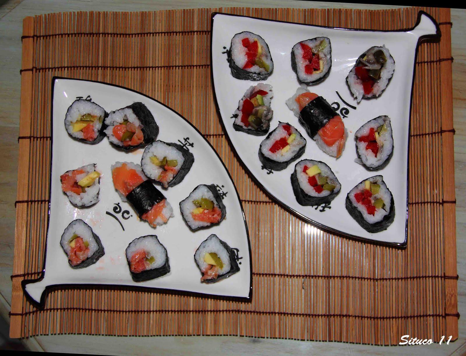 Cocinando en mi casa 2 maki sushi for Cocinando en mi casa