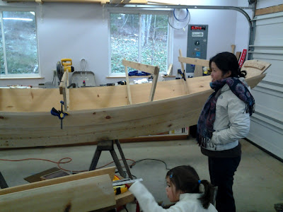 fascinating trip to learn how boats are constructed in Fairview, NC