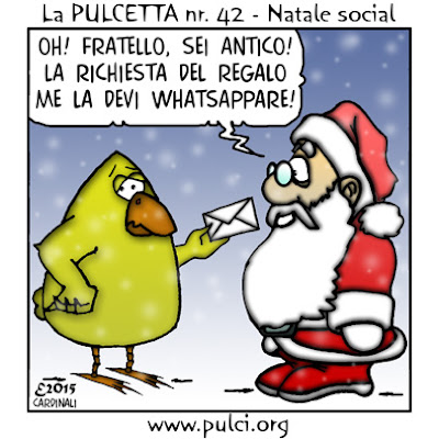PULCI blog: La Pulcetta - Natale social