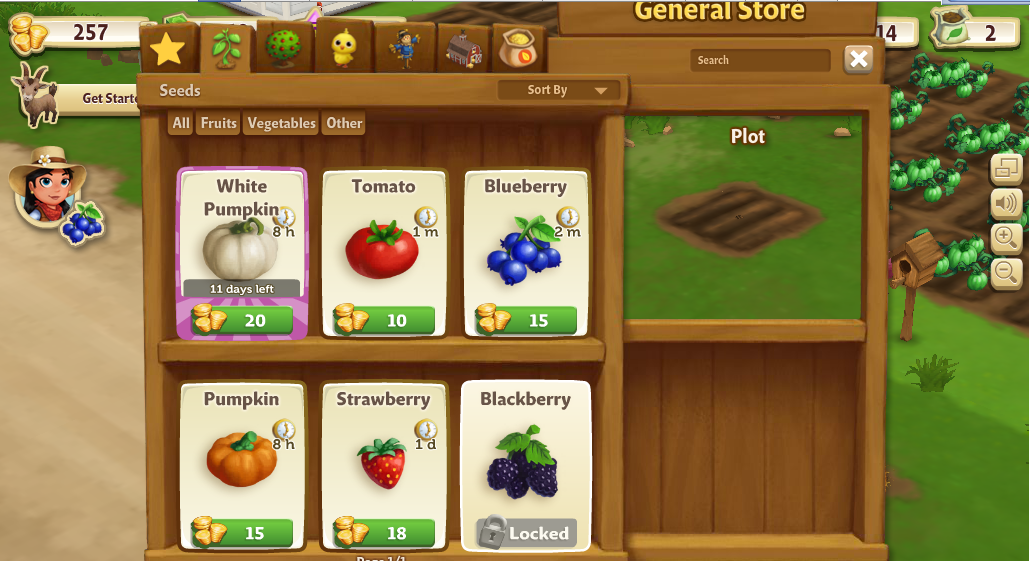 Free download java game Green farm from Gameloft for mobil phone ...