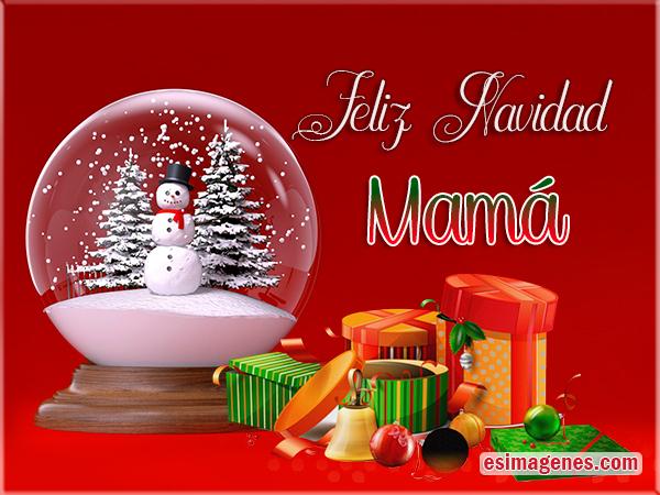tarjetas de navidad para mam