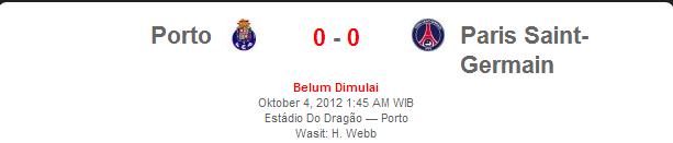 Porto vs PSG