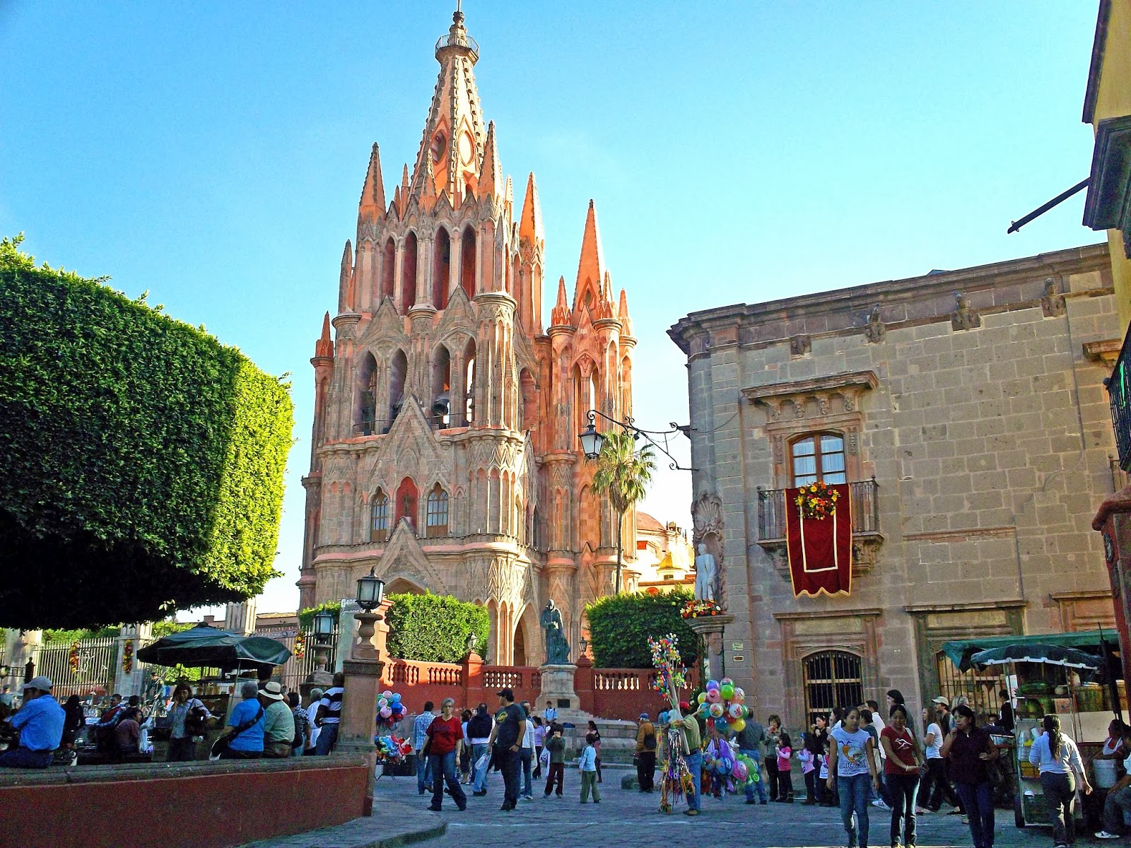 Shane 39 s world the unplanned trip to san miguel de allende for Jardin san miguel de allende