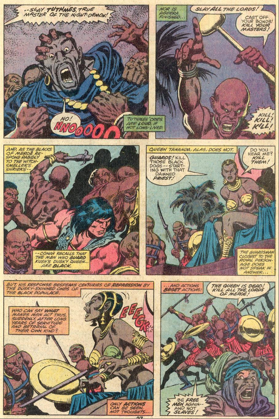 Conan the Barbarian (1970) Issue #107 #119 - English 17