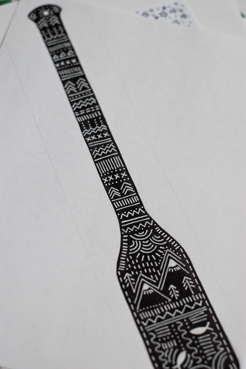 tribal paddle design - The Art of Detail: inspired by the outdoors