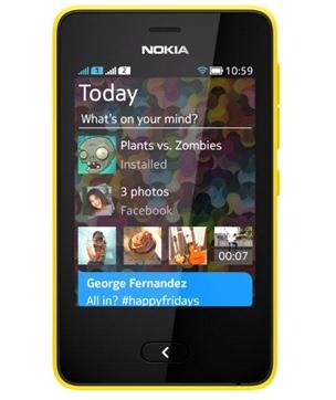 Nokia Asha 501 Amarillo