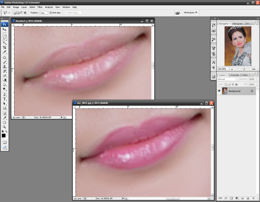 Cara Membuat Lipstic pada Foto dengan Photoshop