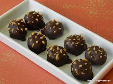 Σοκολατένια τρουφάκια με φυστικοβούτυρο-Choco - Peanut Butter Balls