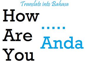 Panduan Menerjemahkan Bahasa Inggris