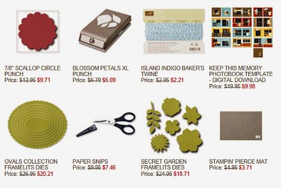 Stampin' Up! Sizzix dies and craft tools on sale!