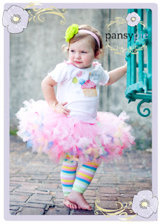 Pansy Pie Birthday Tutu