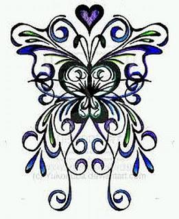 Tatoos y Tatuajes de Mariposas, parte 10