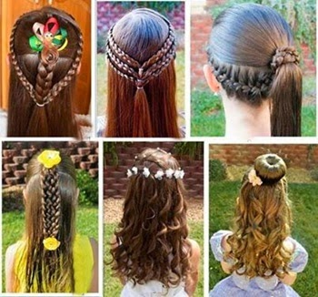 Hairstyles For Indian Kid Girl : Peinados ni?as Comuni?n 2014 - Trucos de Mujer