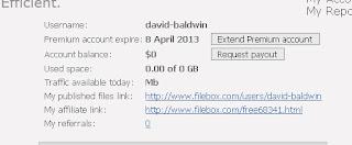 FileBox Premium Account PROOF