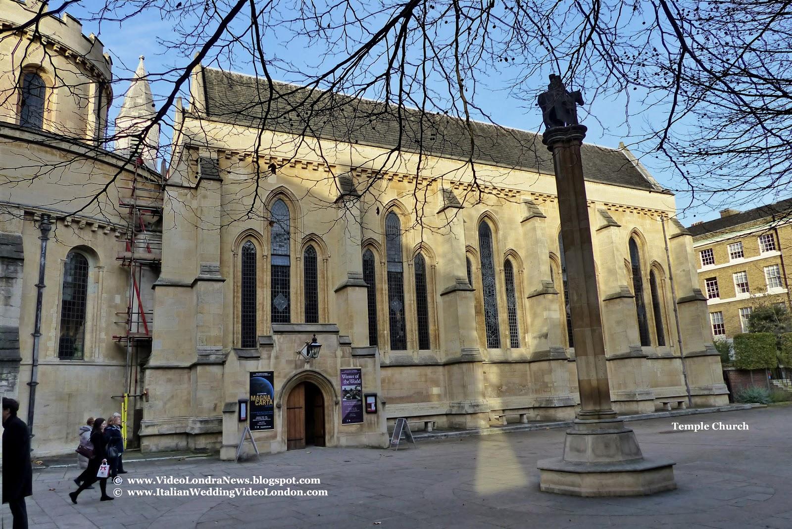 I video e le informazioni su londra temple church la - Posti piu importanti di londra ...