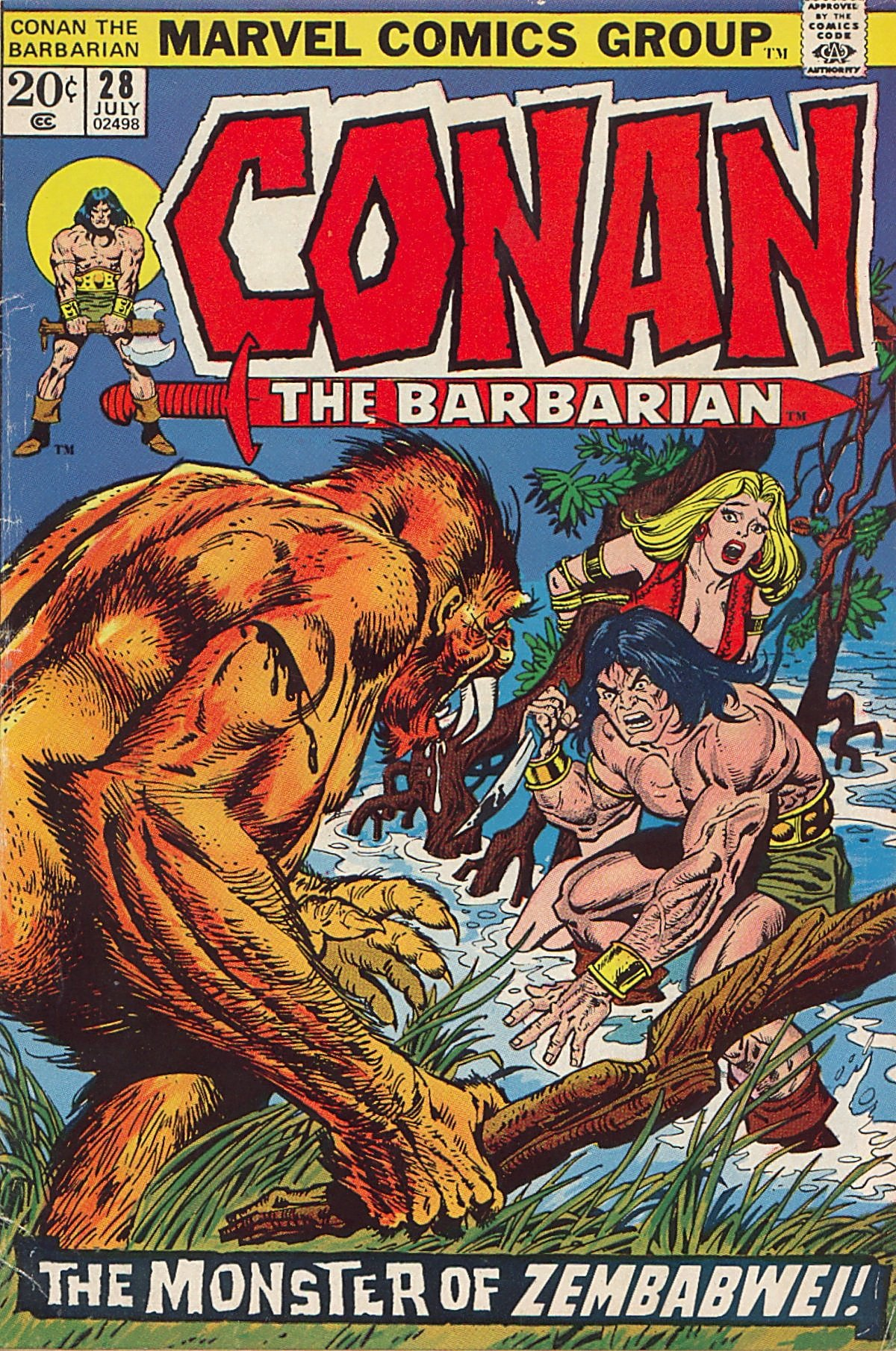 Conan the Barbarian (1970) Issue #28 #40 - English 1