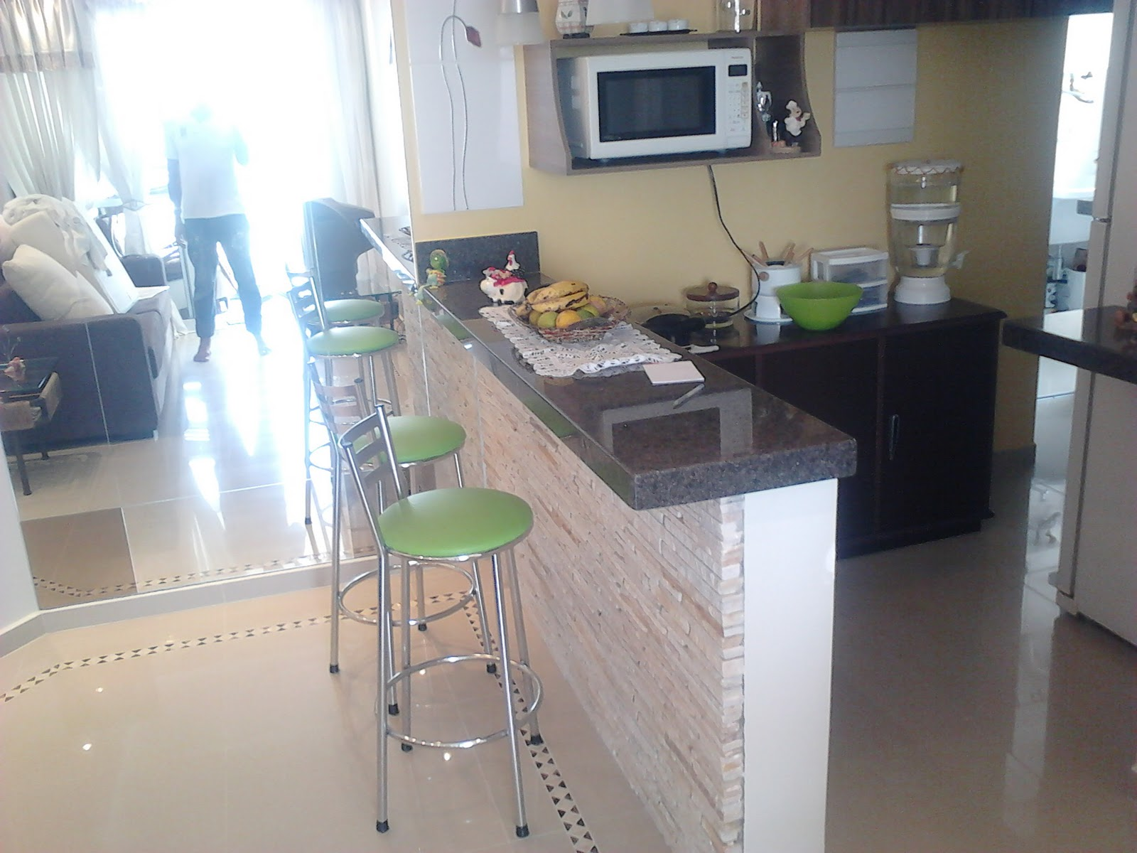 Projeto Cozinha Americana #476A84 1600 1200