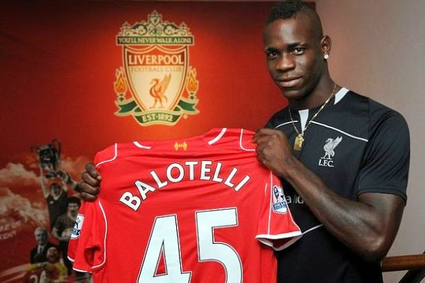 Balotelli Pilih Jersi 45 Liverpool, Dedah Sebab , sukan, bola sepak, liga inggeris, terkini, info, sensasi,