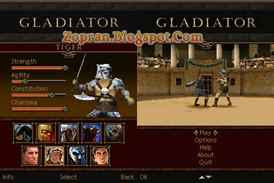 gladiator 3d game