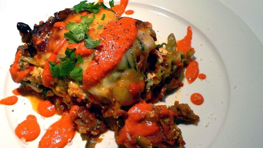 Лазанья под соусом  айвар | Соусы | Рецепт | Сербская кухня | Ресторан дома