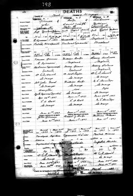 Great-Grandpa's Death Registration is Missing - Where is it?