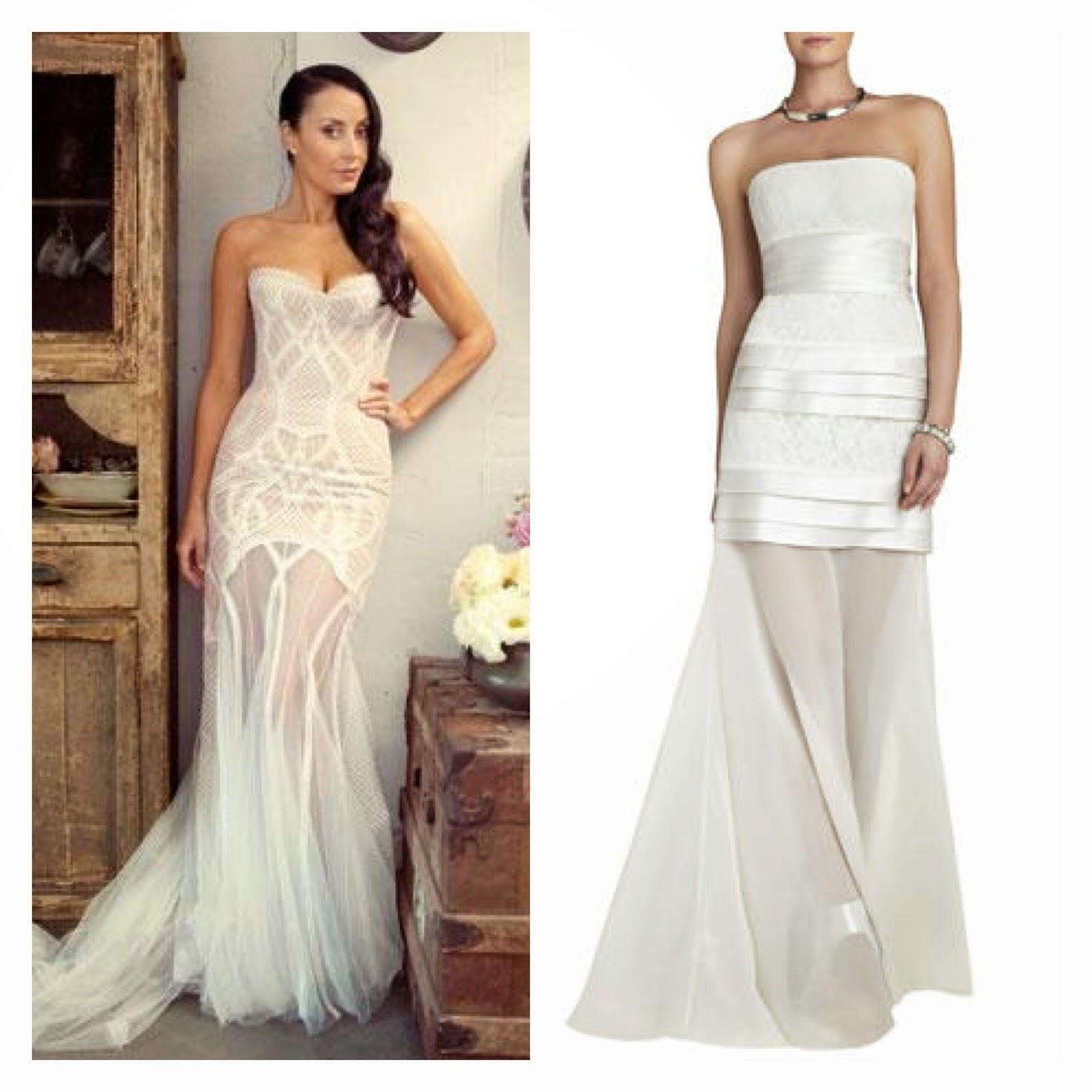 Long White BCBG Dress – fashion dresses