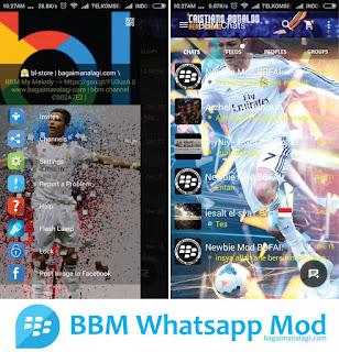 BBM Christiano Ronaldo MOD Apk