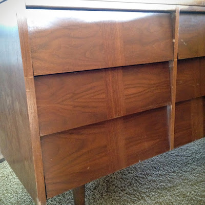 before of Mid Century Dresser