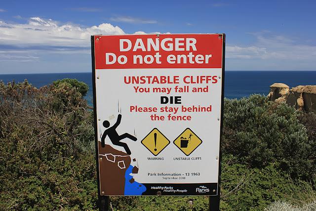 Фото: Дорожные знаки в Австралии