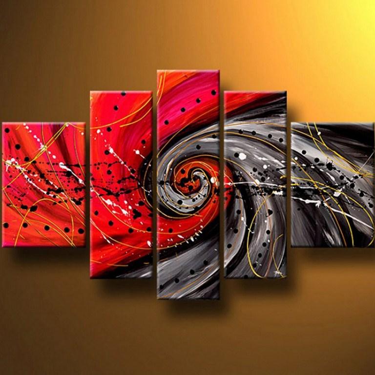 abstractos acrílico abstracto decorativo pintado acrílico abstractos