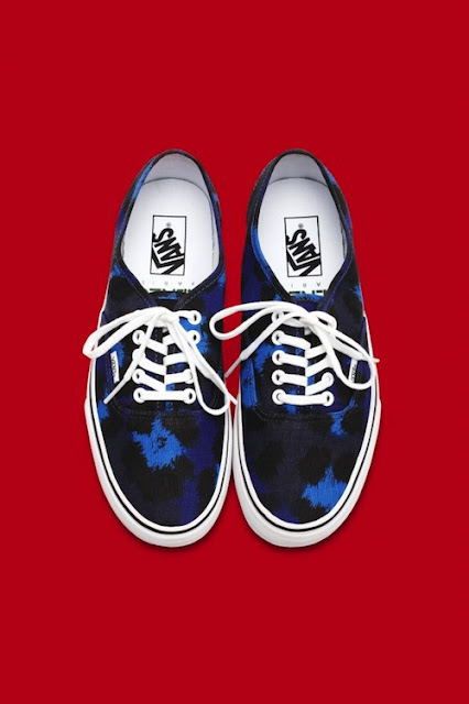 Kenzo for Vans sneakers shoes trendy animal prints design designer collaboration