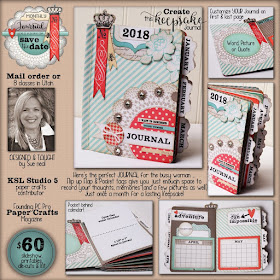 Save the DATE monthly journal Kit