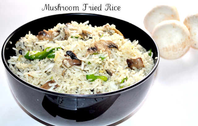 Mushroom Fried Rice is a easy and tasty dish.It's always a Popular ...