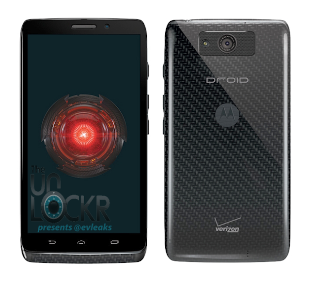 Motorola Droid Ultra Black Press Render