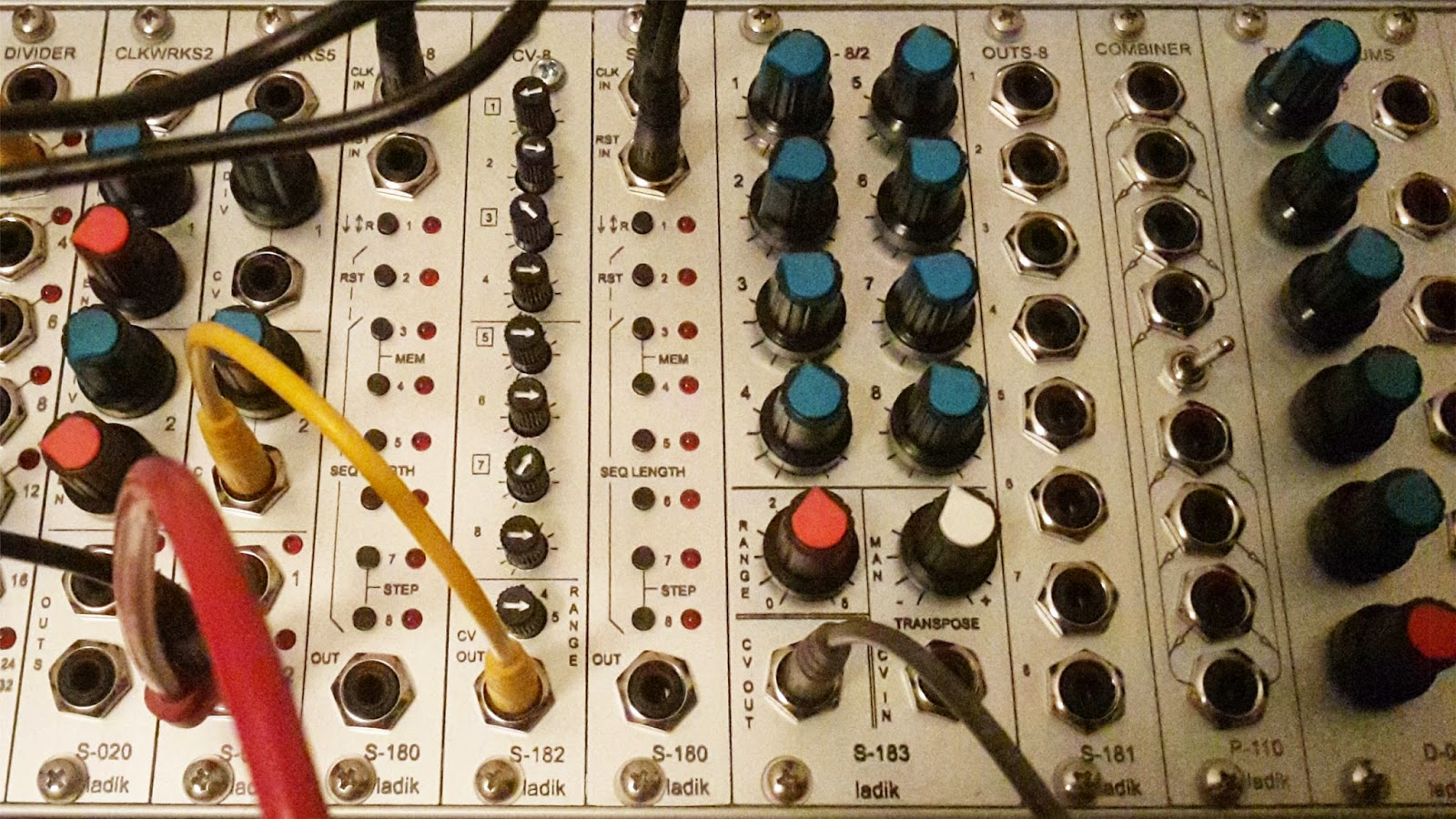 Ladik S-180, S-181, S-182 & S-183 Sequencer System