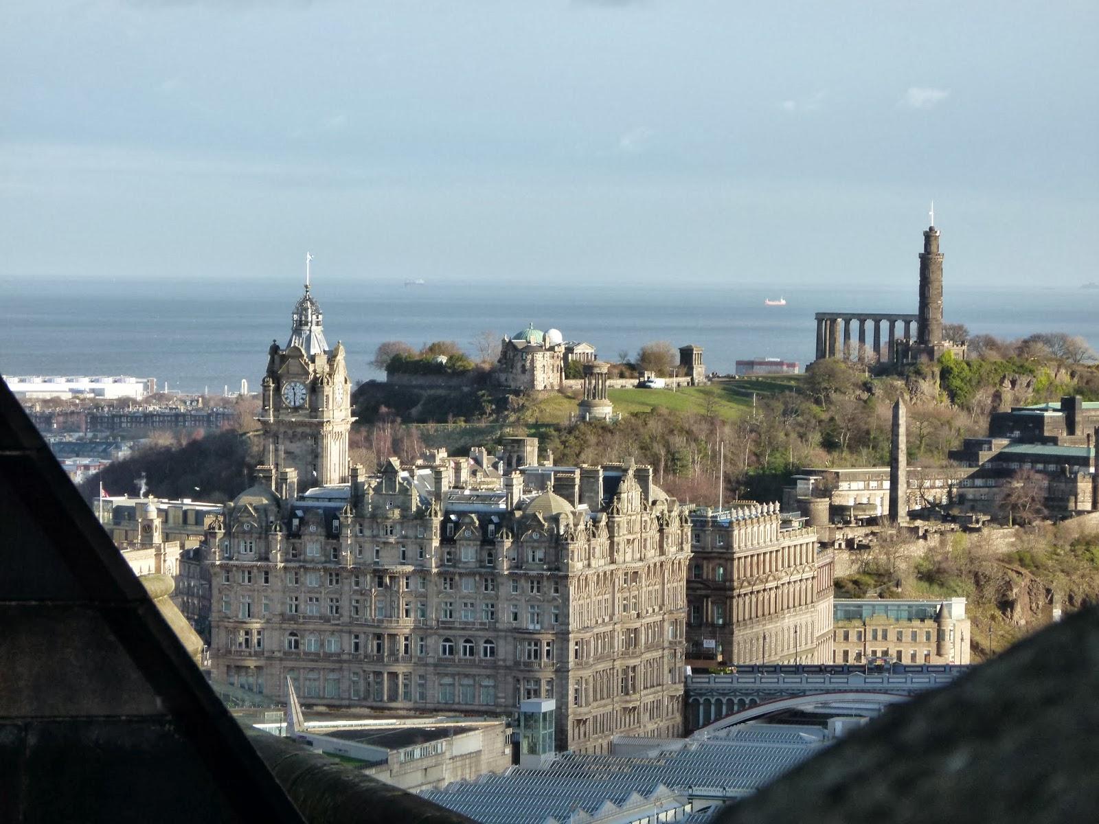 edinburgh from above visit scotland