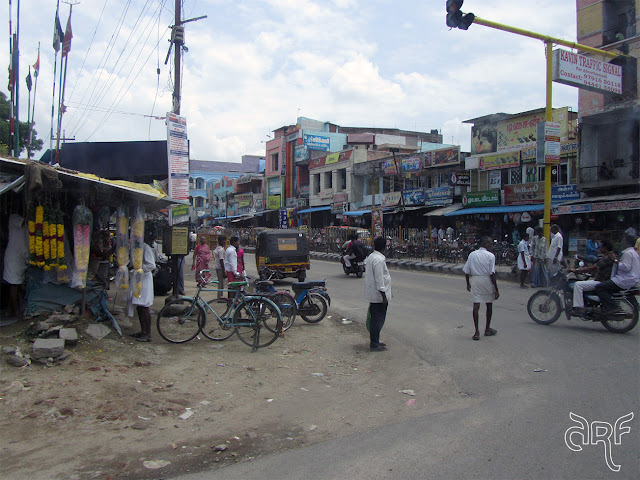 view on Indian street