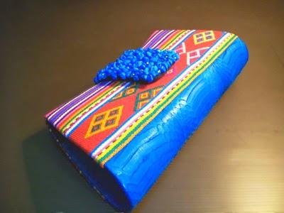 tas wanita cantik motif tenun Buna