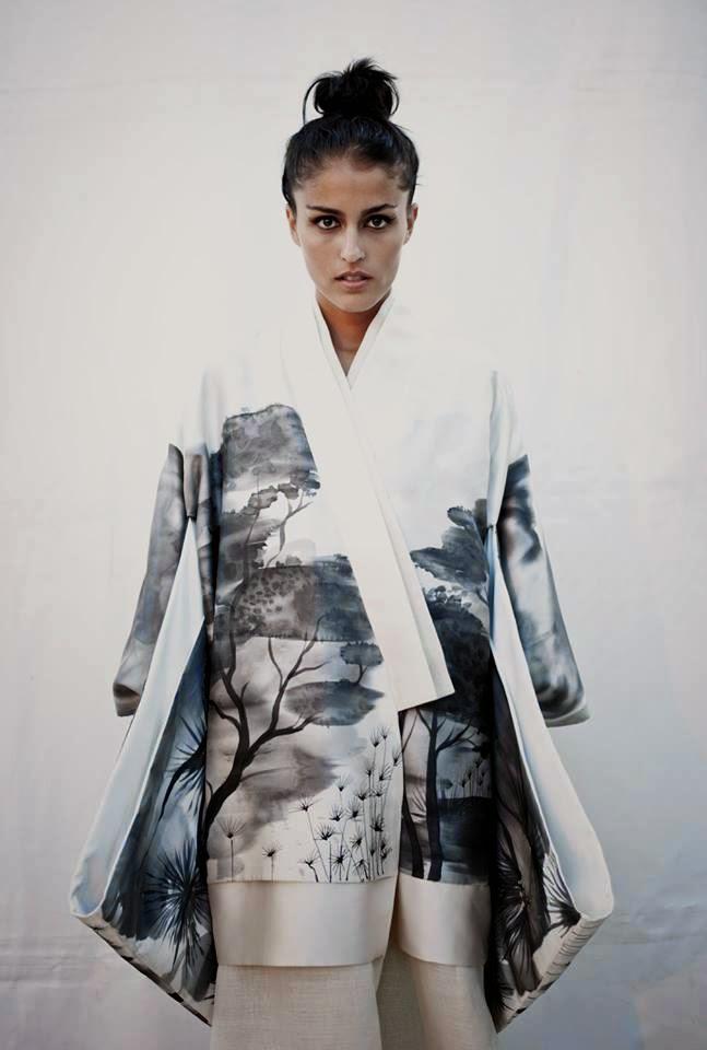 Designer Torres Cosano Textile Painter José Alberto López. Photo Daniel Vázquez Bolaño