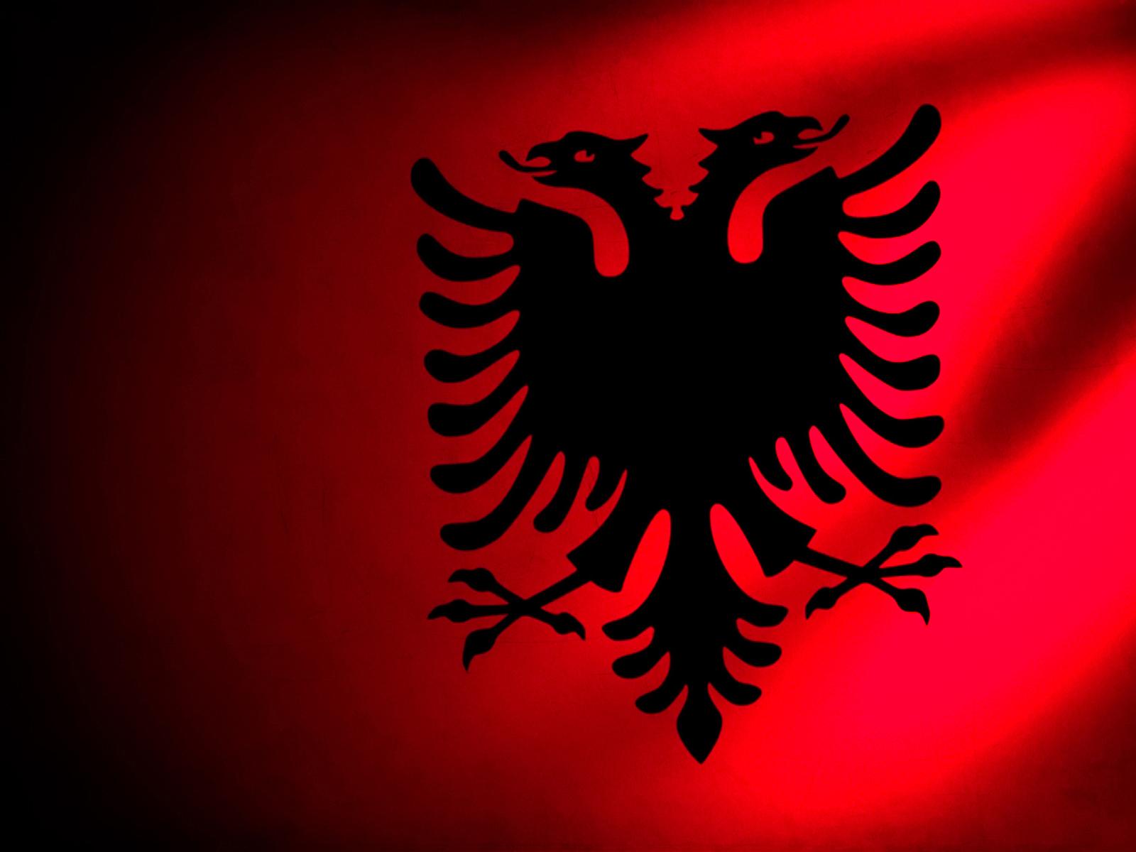 Albania Flag Car